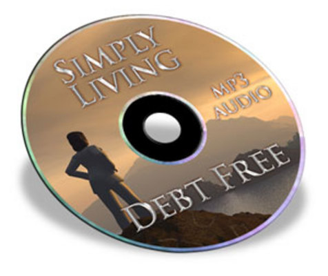 Product picture Simply Living Debt Free Audio Book