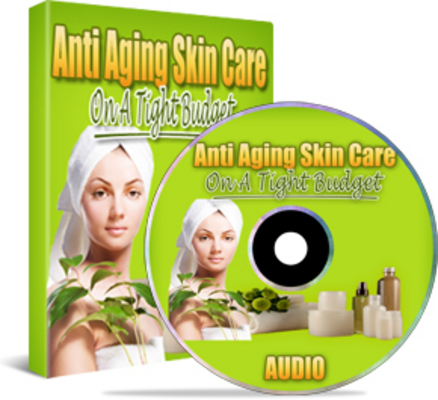 Product picture Anti Aging Skin Care on a Budget Audio Book